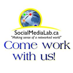 Come Work with Us! Postdoctoral Associate in Social Media Analytics
