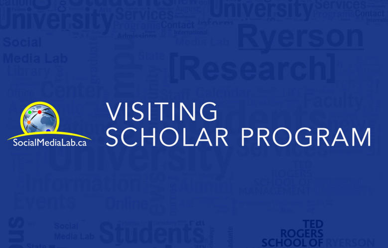 Social Media Lab Visiting Scholar Program: Call for Research Proposals