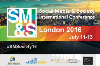London is Calling! The 2016 #SMSociety CFP is Now Available