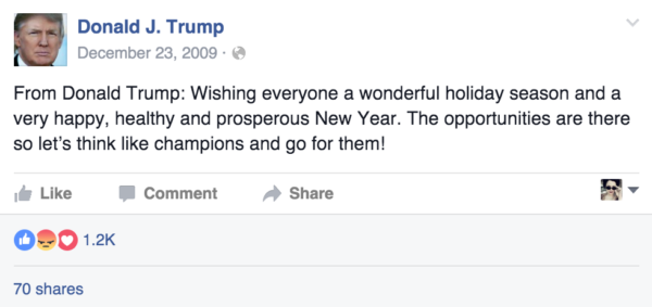Ex. 6 Trump Pronoun Usage in 2009